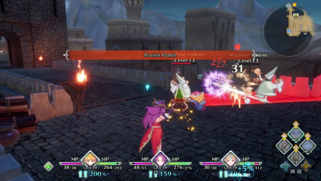 Trials of Mana - Chapter 1: Kingdom of Valsena - Machine Golem