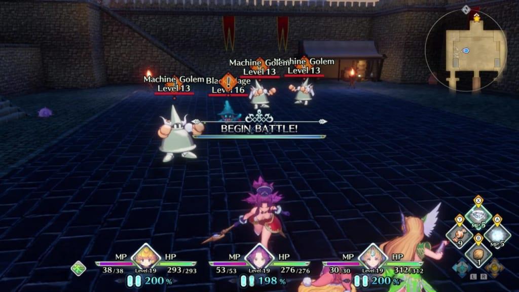 Trials of Mana - Chapter 1: Kingdom of Valsena - Gatehouse Enemies