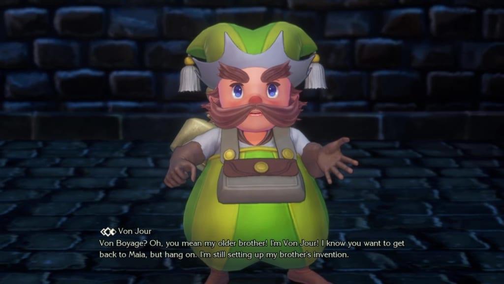Trials of Mana - Chapter 1: Kingdom of Valsena - Von Jour