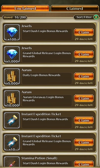 Romancing SaGa Re;Universe - In-Game Rewards