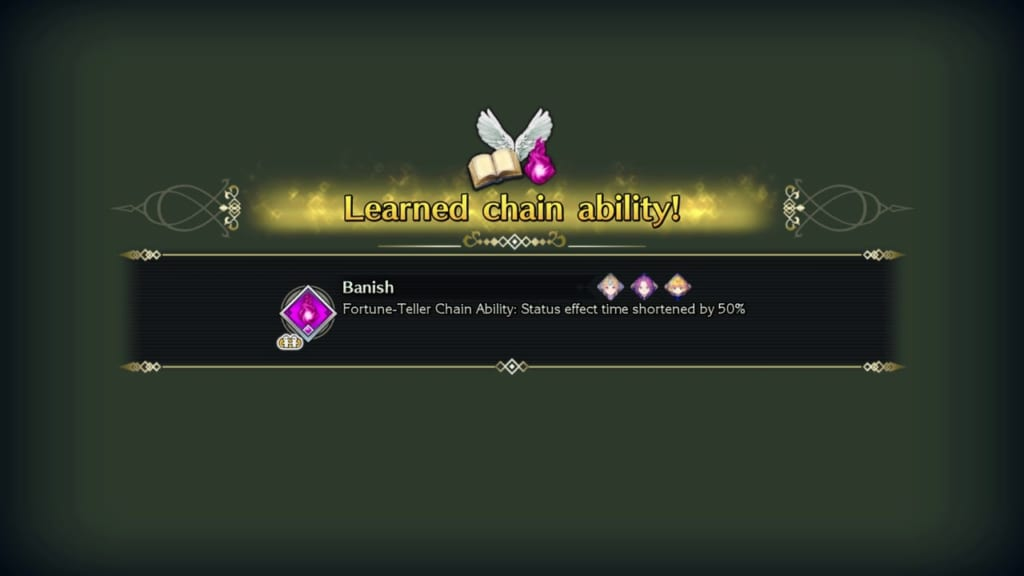 Trials of Mana - Chapter 1: Kingdom of Valsena - Chain Ability Banish