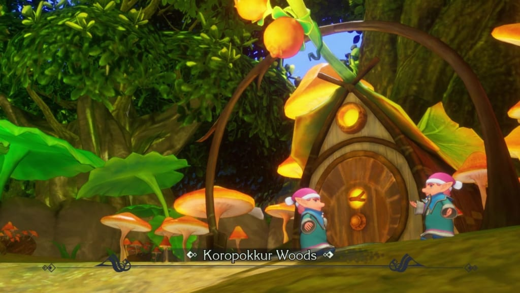 Trials of Mana Remake - Chapter 2: Koropokkur Woods Walkthrough