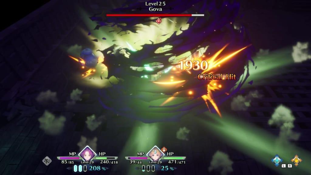 Trials of Mana Remake - Gova - Use Tier 2 Class Strikes