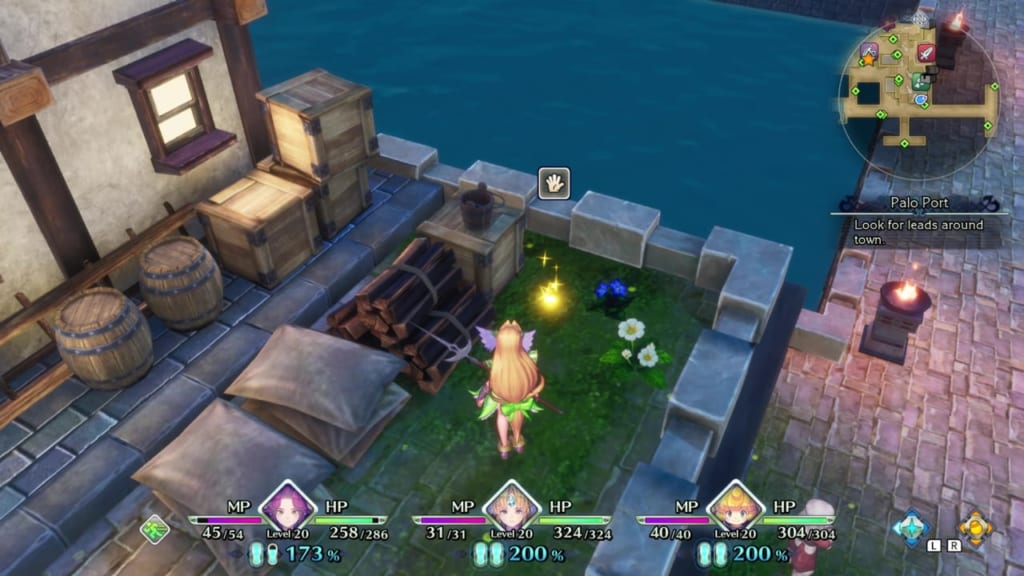 Trials of Mana - Chapter 2: Palo Port - Orb Location 4
