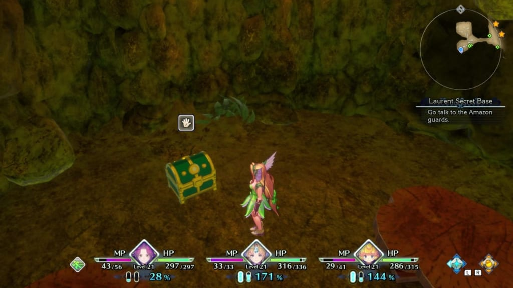 Trials of Mana - Chapter 2: Laurent Secret Base - Chest Location 1