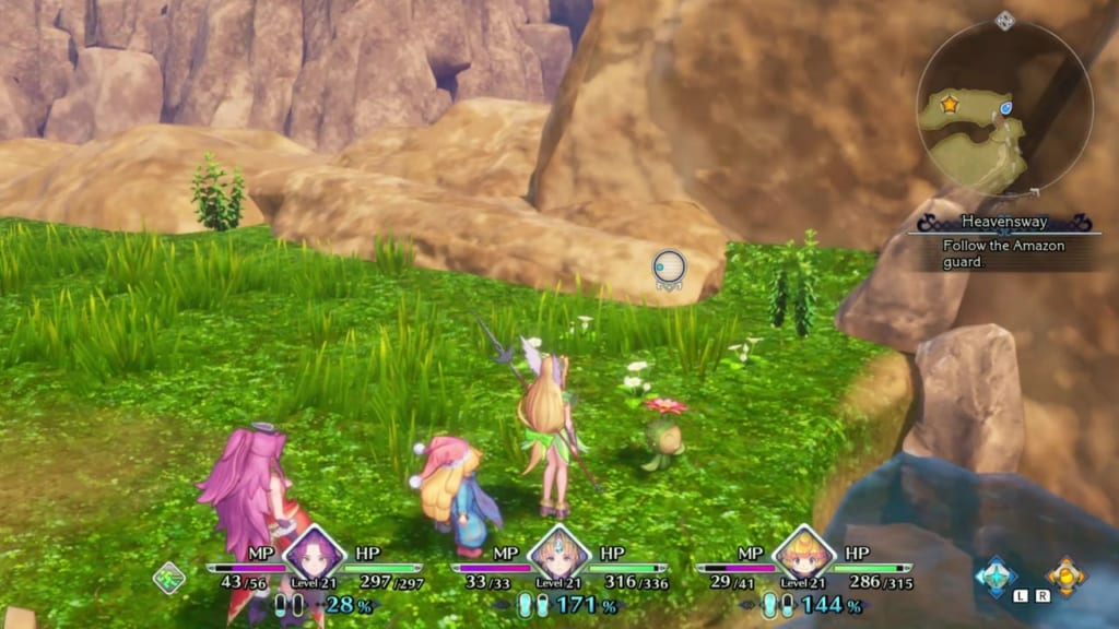 Trials of Mana - Chapter 2: Laurent Secret Base - Lil' Cactus Location 10