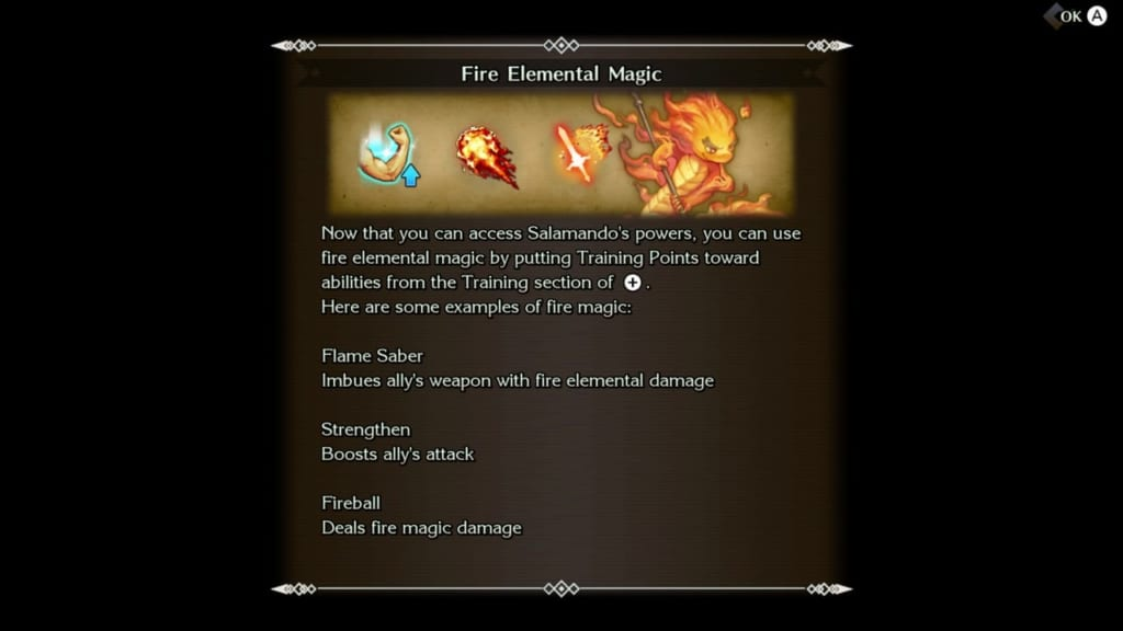 Trials of Mana Remake - Chapter 3: Fiery Gorge - Fire Elemental Moves and Magic