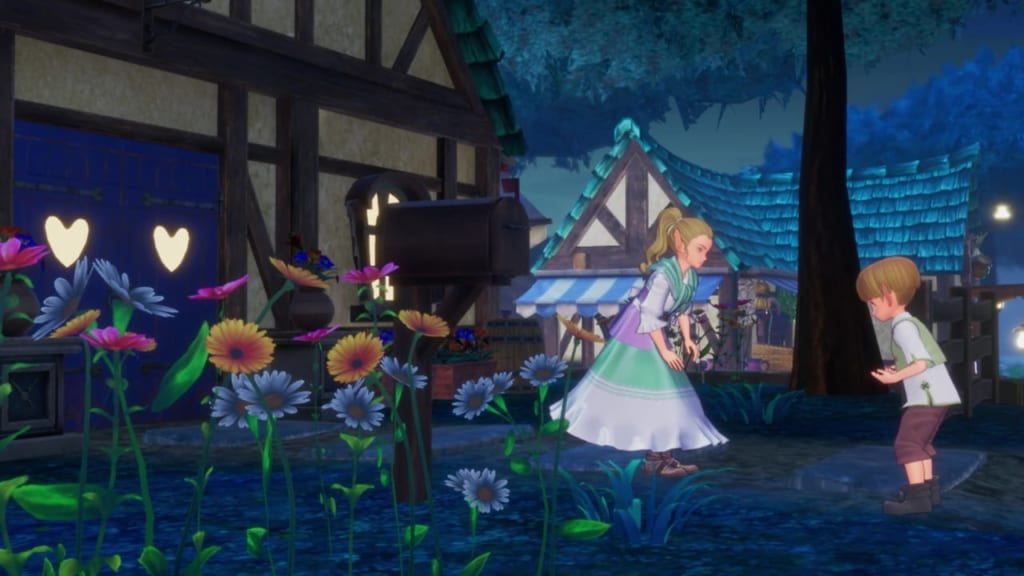 Trials of Mana Remake - Chapter 3: Moonlight Town Mintas - Search for the Moon Elemental