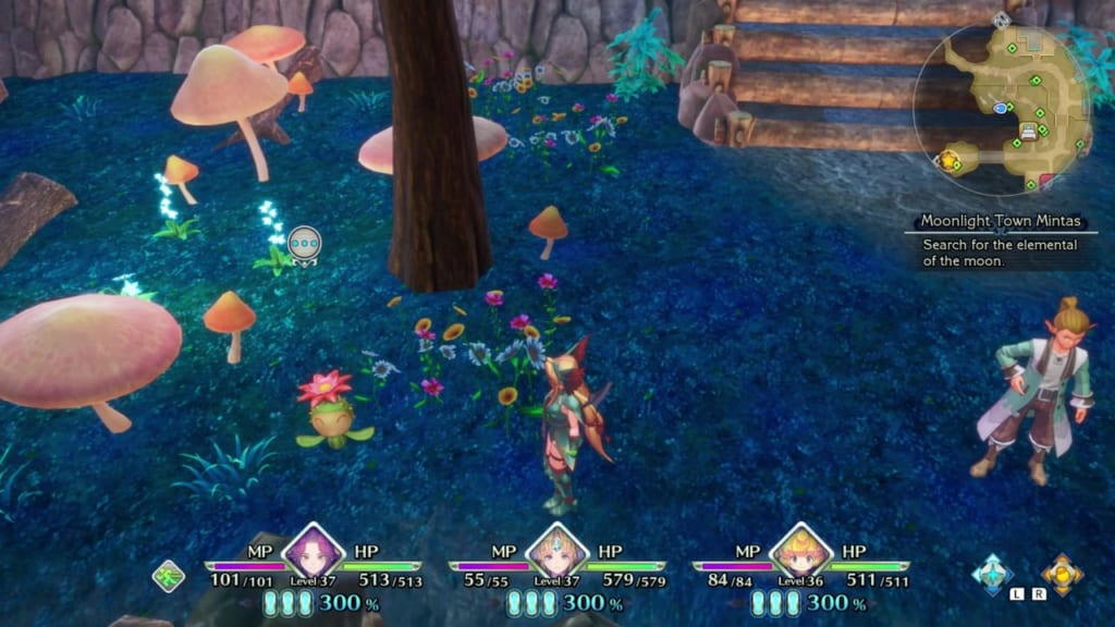 Trials of Mana Remake - Chapter 3: Moonlight Town Mintas - Lil Cactus Location 26