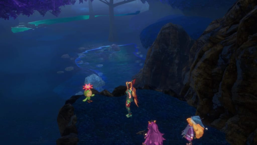 Trials of Mana Remake - Chapter 3: Duskmoon Forest - Lil' Cactus Location 27