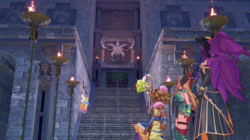 Trials of Mana Remake - Chapter 3: Chartmoon Tower - Chase After Goremand