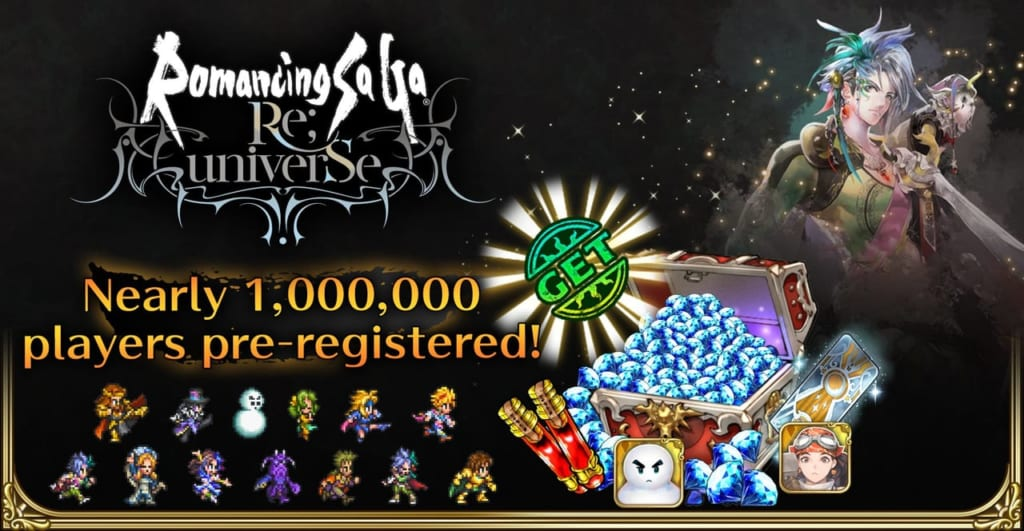 Romancing SaGa Re;Universe - Pre-Registration Reached 1 Million