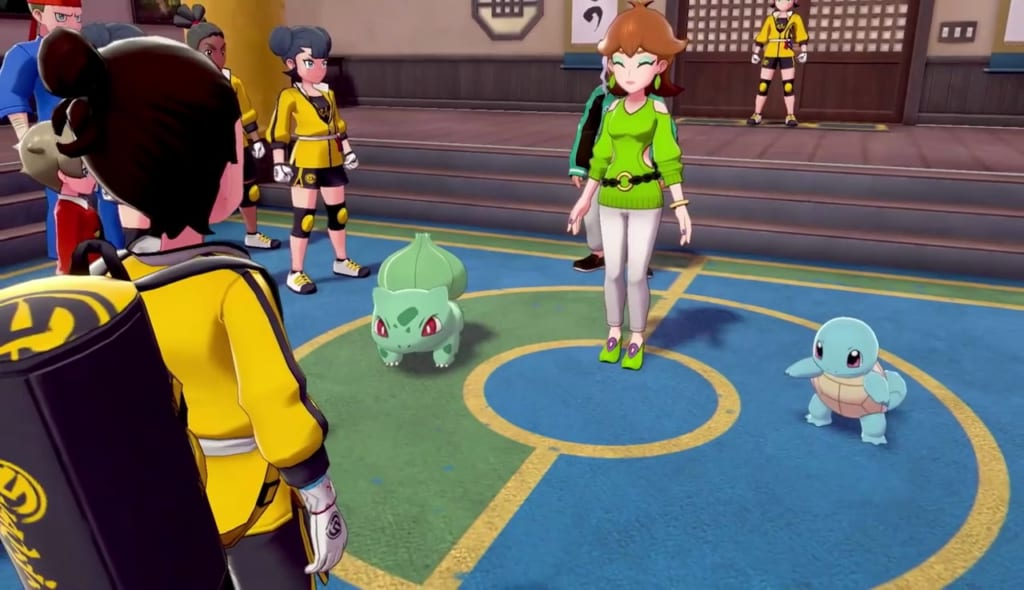 Pokemon Sword and Shield - Gigantamax Bulbasaur and Squirtle