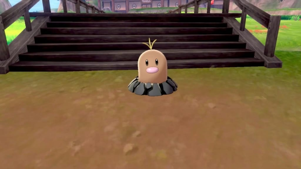Pokemon Sword and Shield - Diglett Location