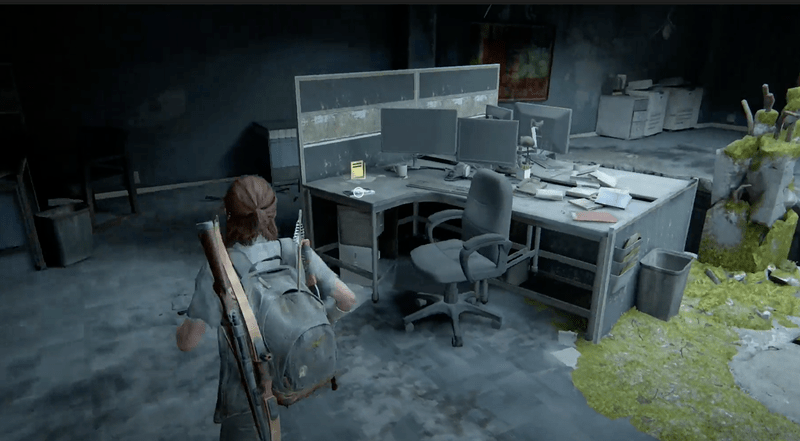 The Last of Us 2 - Training Manual Location 4 - Organic Chemistry