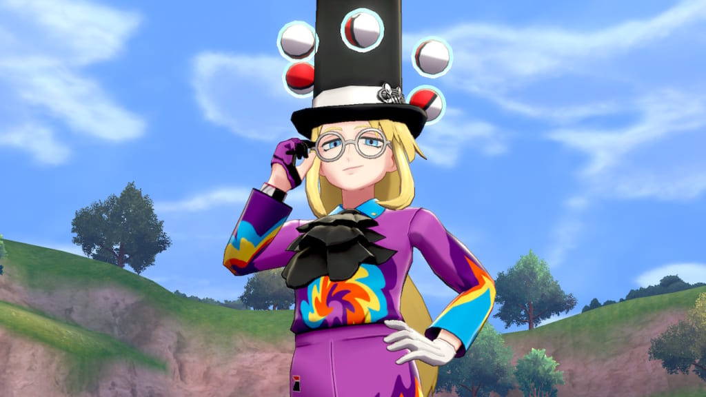 Pokemon Sword and Shield - Avery (Battle Court)