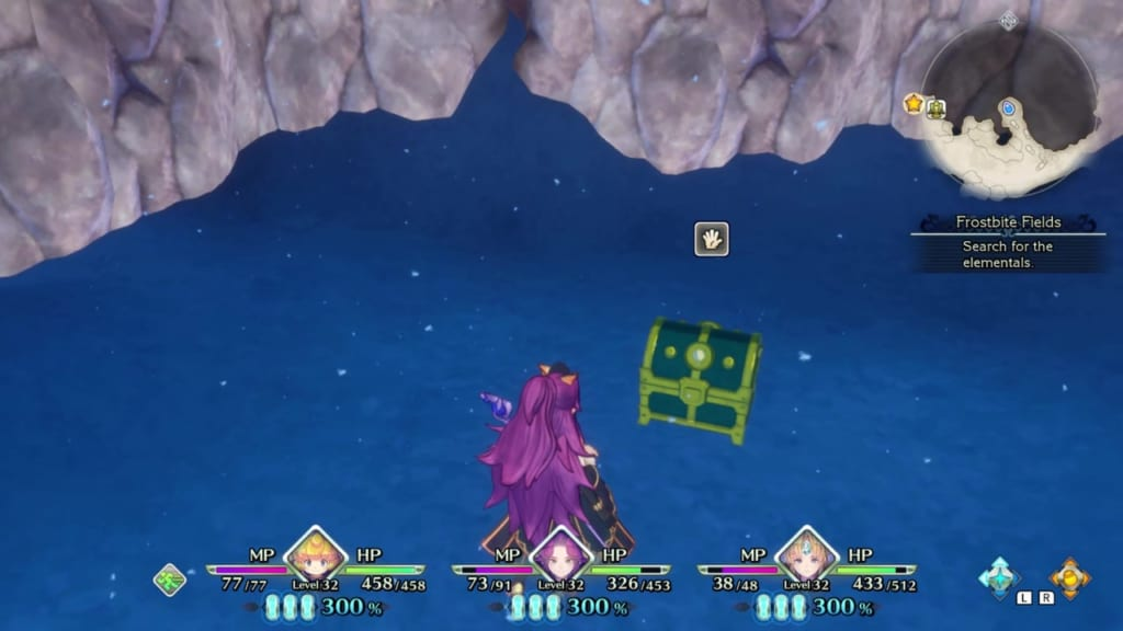Trials of Mana Remake - Chapter 3: Frostbite Fields - Chest Location 2