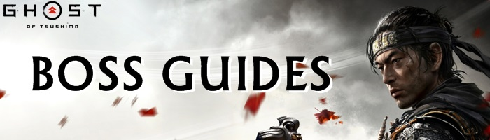 Ghost of Tsushima - Boss Guides Banner
