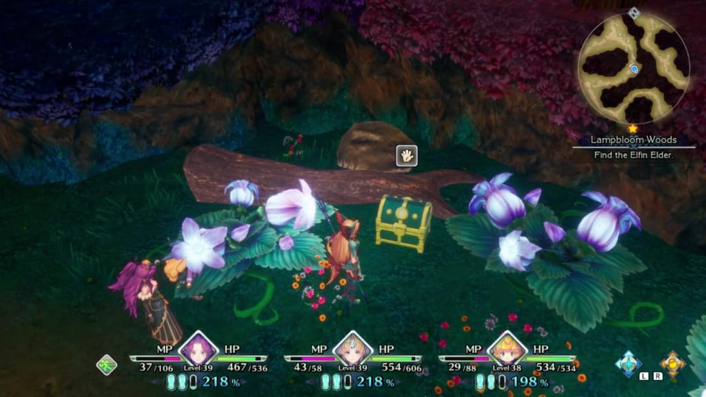 Trials of Mana Remake - Chapter 3: Lampbloom Woods - Chest Location 3