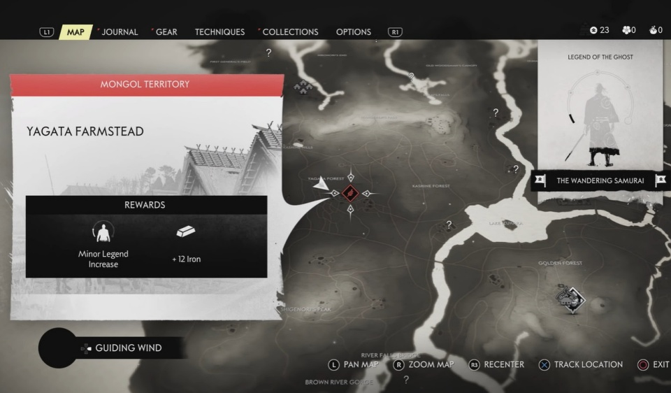 Ghost of Tsushima - All Mongol Territory Locations and Guide