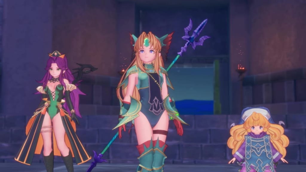 Trials of Mana Remake - Chapter 5: Chartmoon Tower Revisited - Defeat the Benevodons