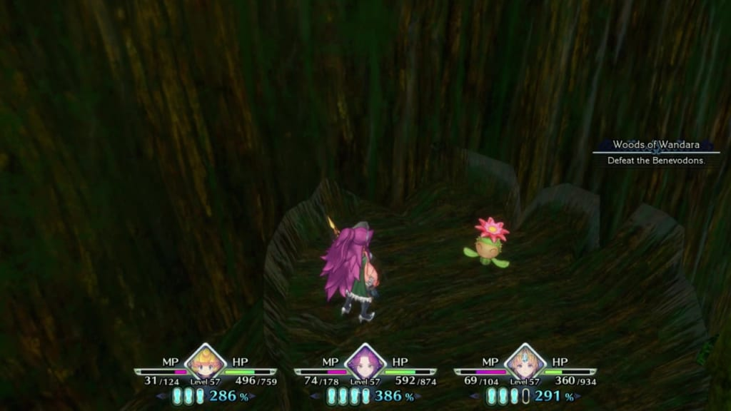 Trials of Mana Remake - Chapter 5: Woods of Wandara - Lil' Cactus Location #43