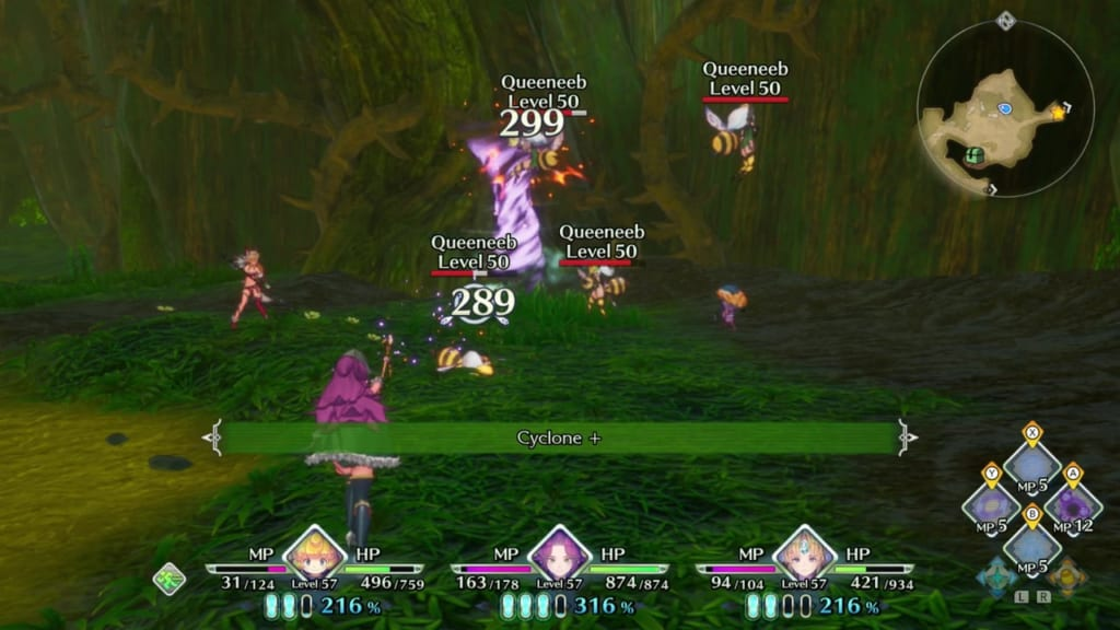 Trials of Mana Remake - Class Change Seed farming