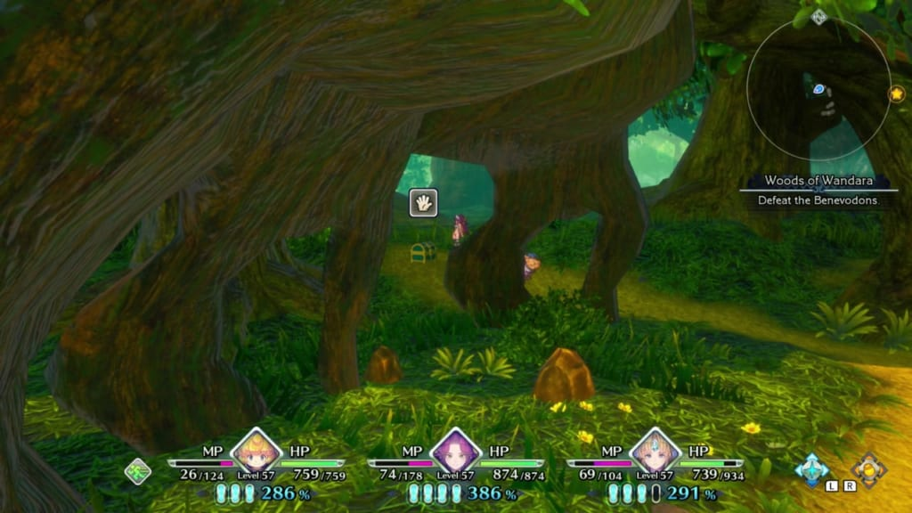 Trials of Mana Remake - Chapter 5: Woods of Wandara - Chest Location 4
