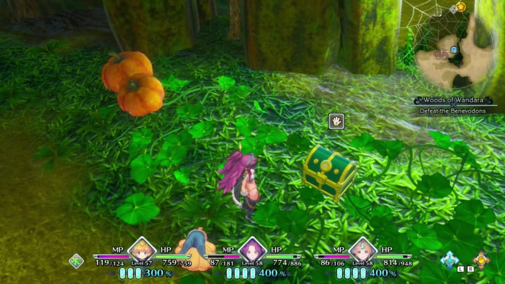 Trials of Mana Remake - Chapter 5: Woods of Wandara - Chest Location 8