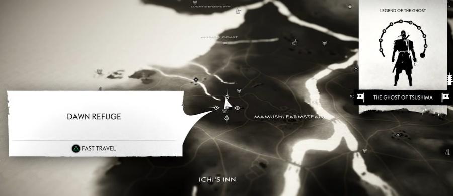 Ghost of Tsushima - Dawn Refuge