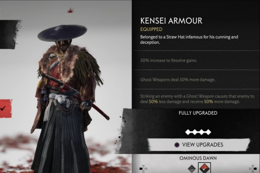 Ghost of Tsushima - Kensei Armor Set