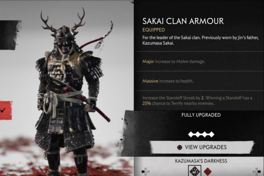 Ghost of Tsushima - Sakai Clan Armor Set