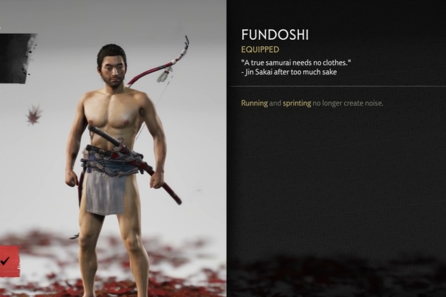 Ghost of Tsushima - How to Get the Fundoshi