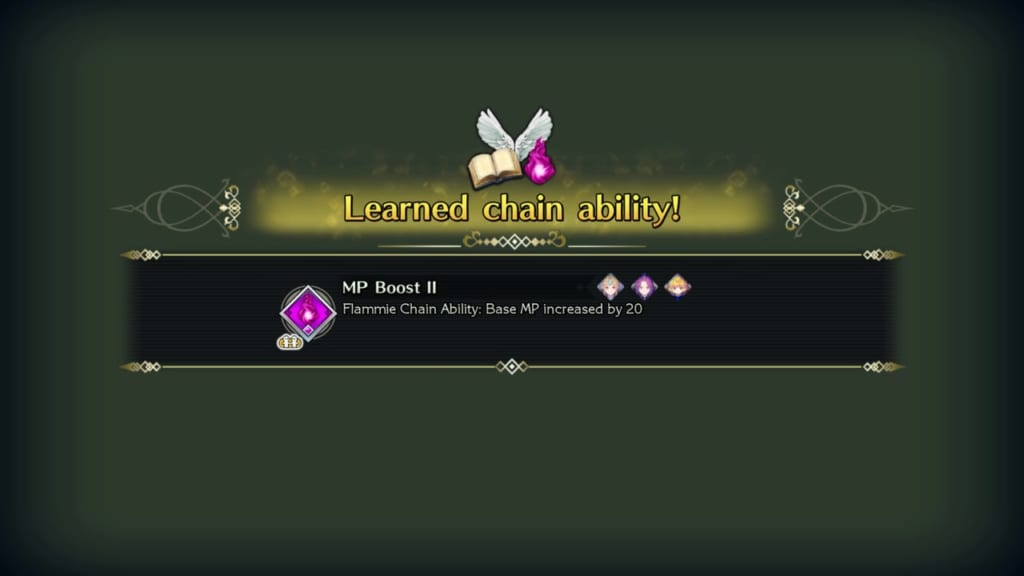 Trials of Mana Remake - Chapter 4: Celestial Peak - MP Boost II Chain Ability