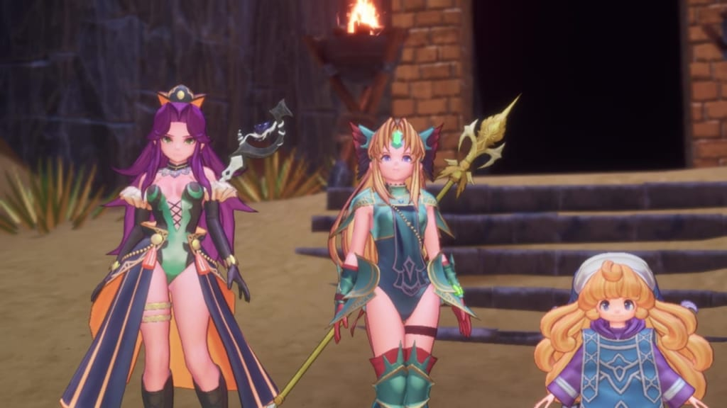 Trials of Mana Remake - Chapter 4: Rescue Faerie in Nevarl Fortress - Defeat the Benevodons