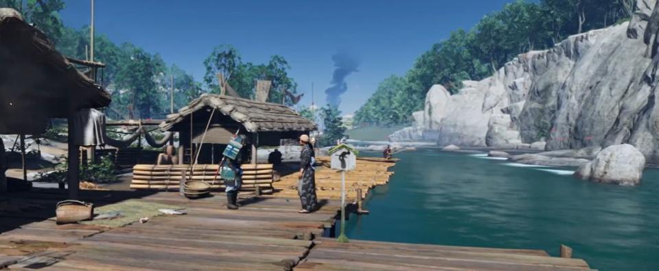 Ghost of Tsushima - The Laughing Bandits Walkthrough