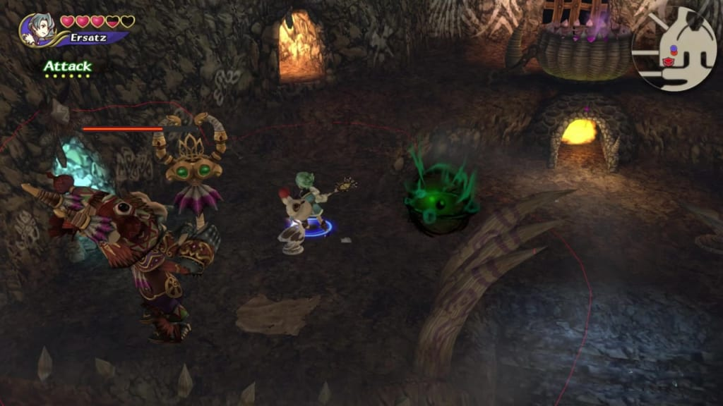 Final Fantasy Crystal Chronicles: Remastered Edition - Goblin King - Avoid the green mist