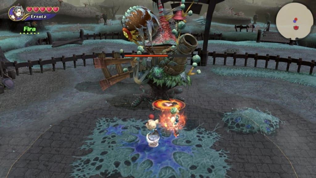 Final Fantasy Crystal Chronicles: Remastered Edition - Armstrong - Use fire spells or focus attacks