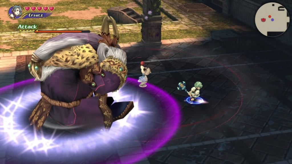 Final Fantasy Crystal Chronicles: Remastered Edition - Jack Moshet and Maggie - Bait Attacks