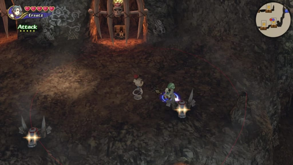 Final Fantasy Crystal Chronicles: Remastered Edition - Goblin Wall - Skull Switches