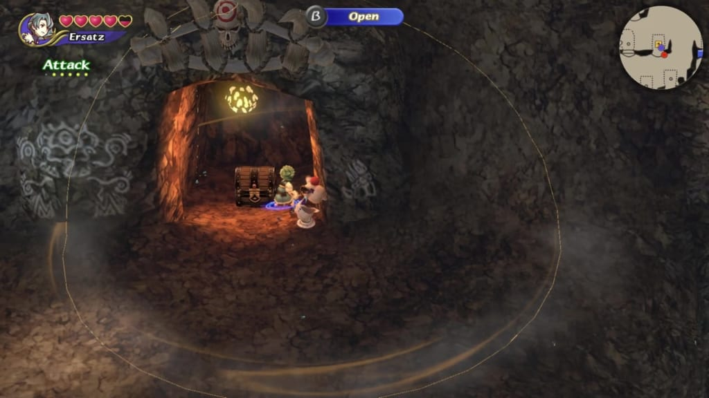 Final Fantasy Crystal Chronicles: Remastered Edition - Goblin Wall - Chest Location 4 Final Fantasy Crystal Chronicles: Remastered Edition - Goblin Wall - Skull Switches