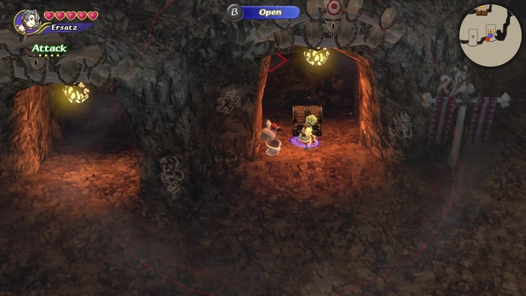 Final Fantasy Crystal Chronicles: Remastered Edition - Goblin Wall - Chest Location 3