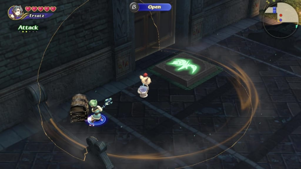 Final Fantasy Crystal Chronicles: Remastered Edition - Moschet Manor - Chest Location 1