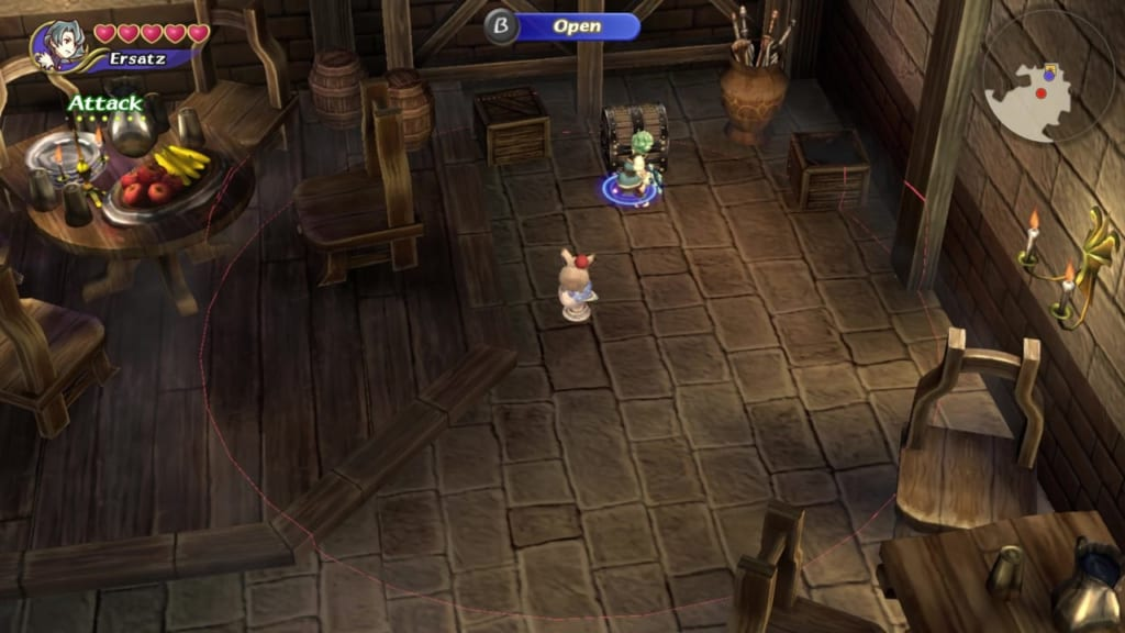 Final Fantasy Crystal Chronicles: Remastered Edition - Moschet Manor - Chest Location 3