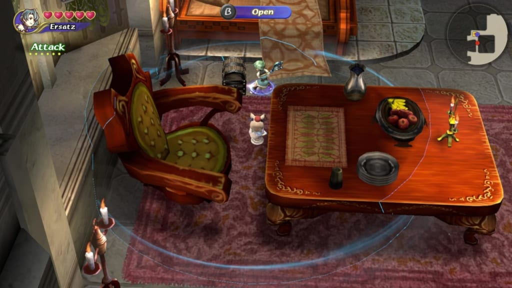 Final Fantasy Crystal Chronicles: Remastered Edition - Moschet Manor - Chest Location 6