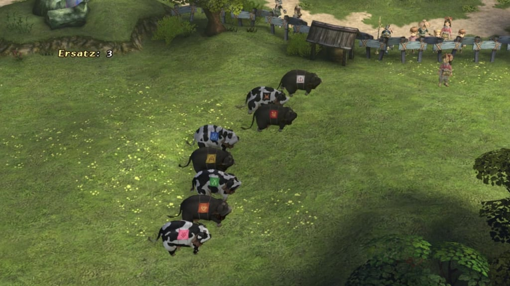 Final Fantasy Crystal Chronicles: Remastered Edition - Cow Racing Mini Game Guide