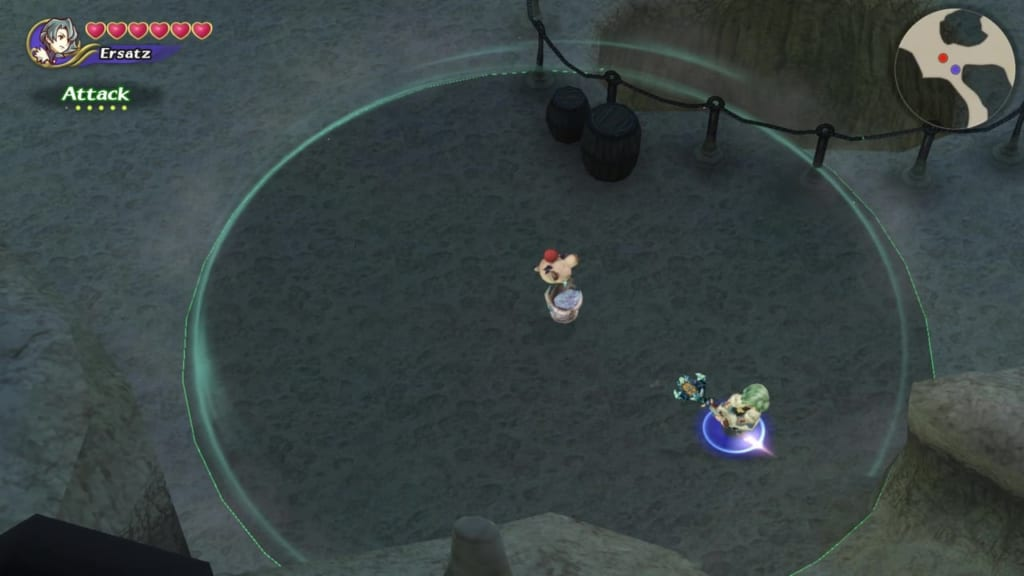 Final Fantasy Crystal Chronicles: Remastered Edition - Selepation Cave - Pathway leading to the middle area