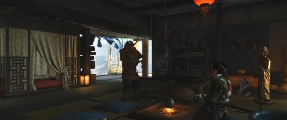 Ghost of Tsushima - The Generosity of Lady Sanjo Walkthrough