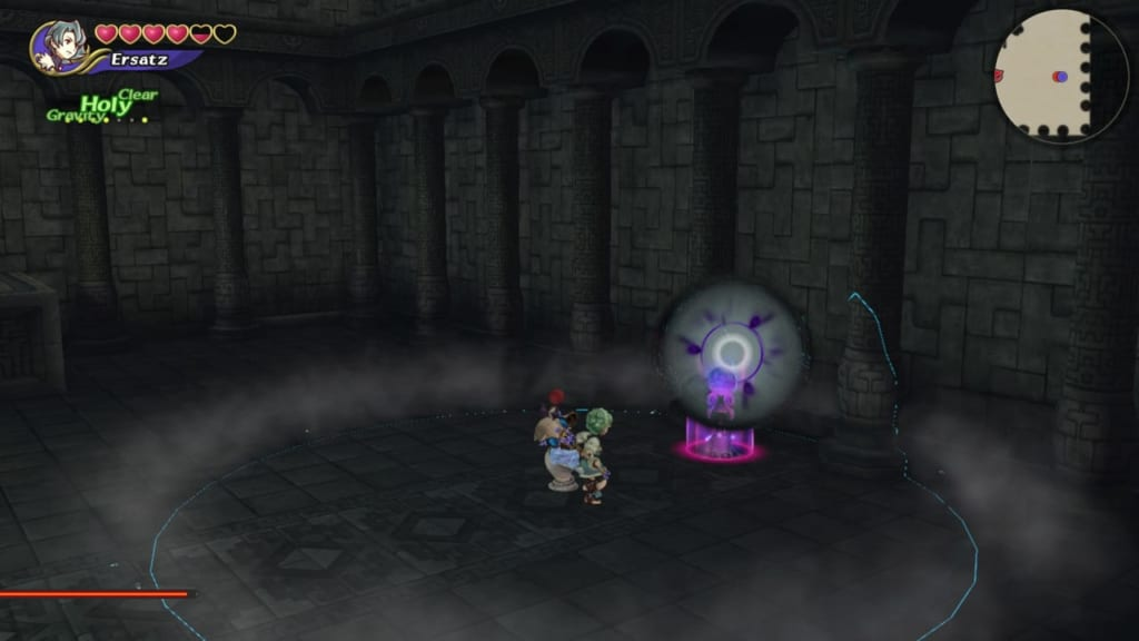 Final Fantasy Crystal Chronicles: Remastered Edition - Lich - Target orbs