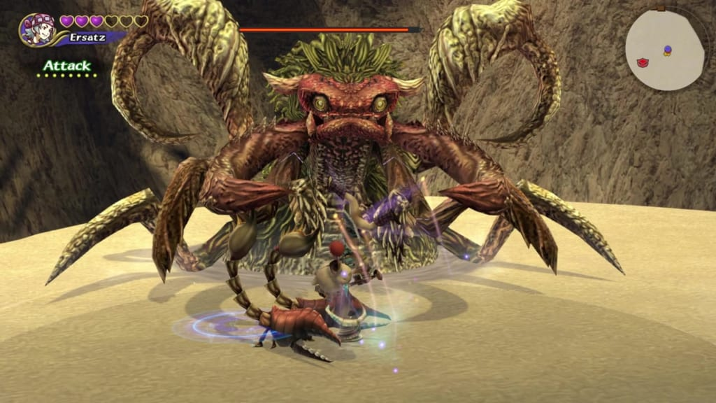 Final Fantasy Crystal Chronicles: Remastered Edition - Antlion - Defeat minion